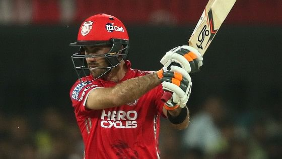 Glenn Maxwell played an excellent innings of 44 runs against Rising Pune Supergiant. (Photo: BCCI)