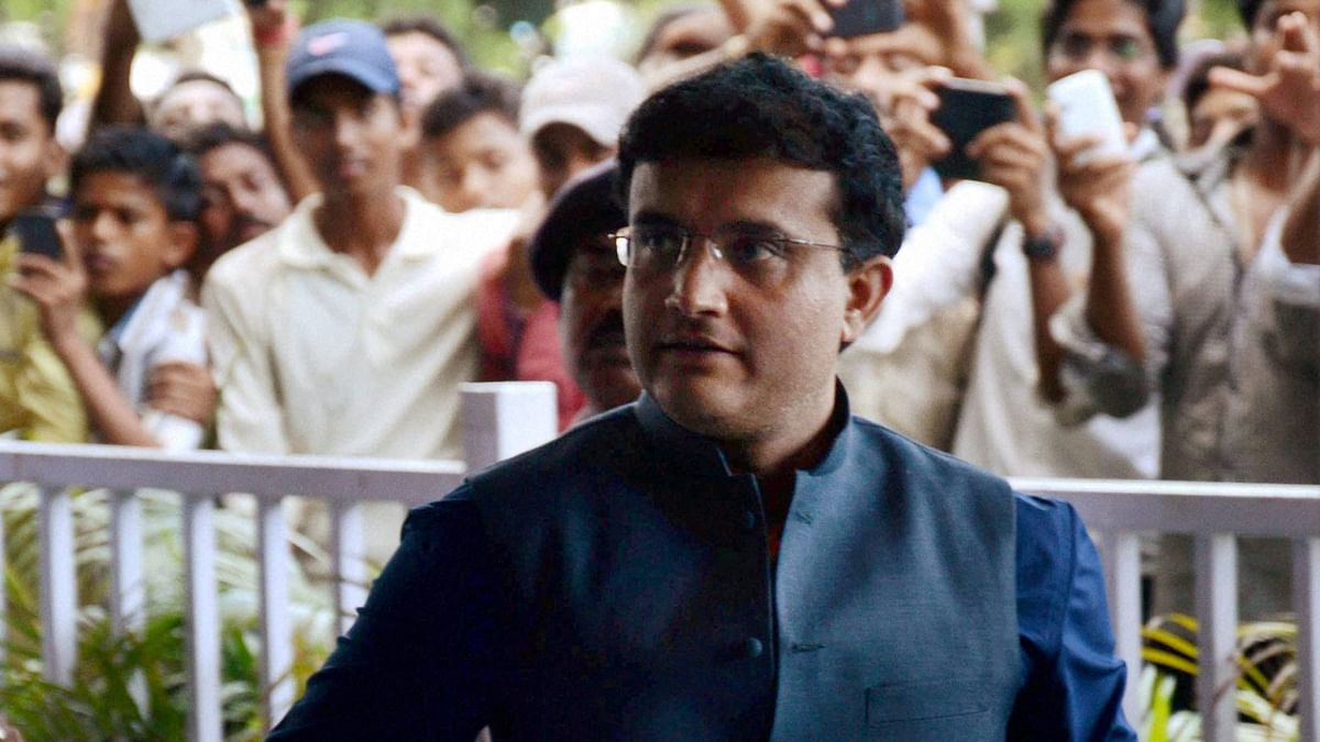 File photo of Sourav Ganguly. (Photo: PTI)