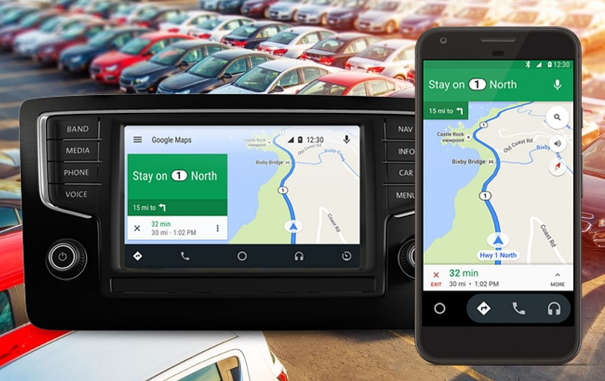 The big advantage of Android Auto is that it offers navigation. (Photo: <b>The Quint</b>)