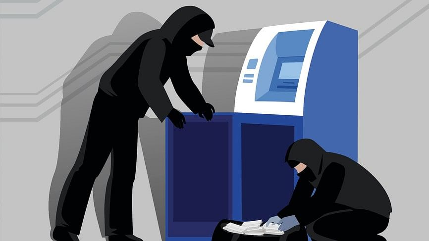 Robbers looted a locker. Representational image.
