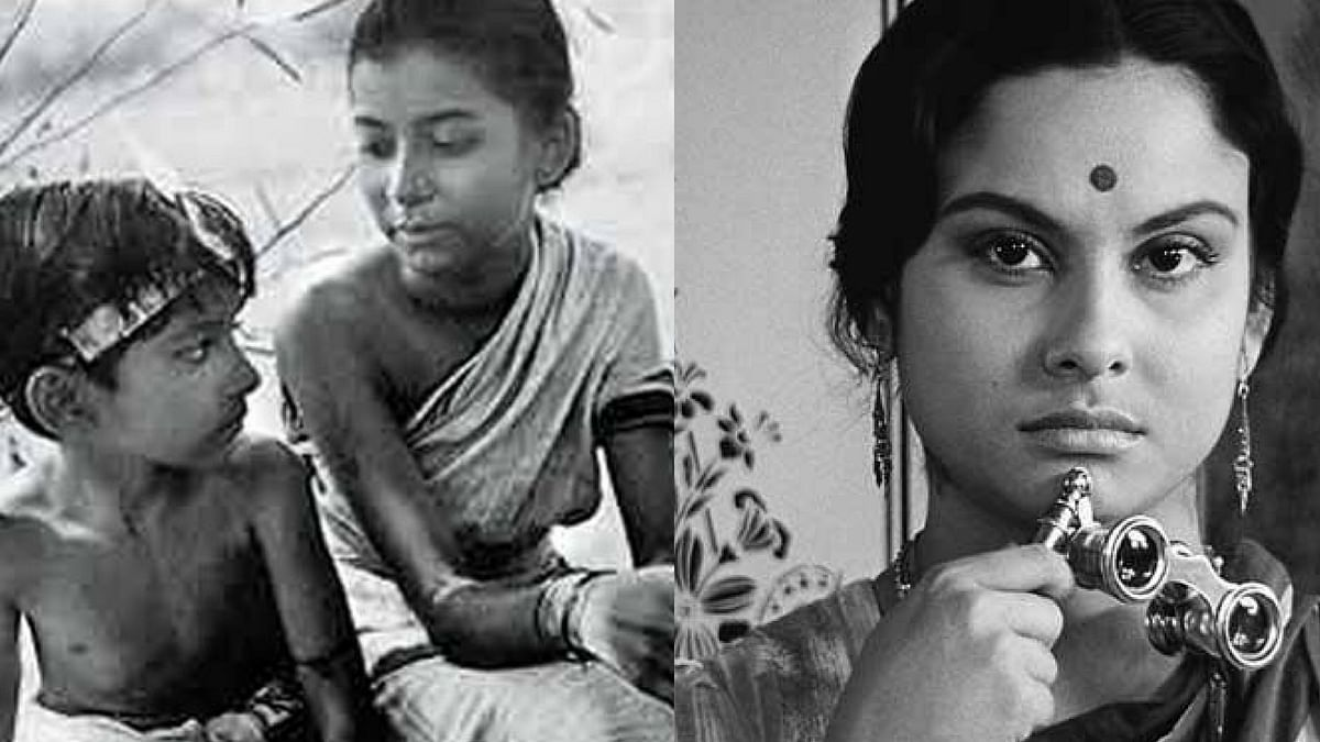 Stills from Satyajit Ray's <i>Pather Panchali</i> and <i>Charulata</i>.