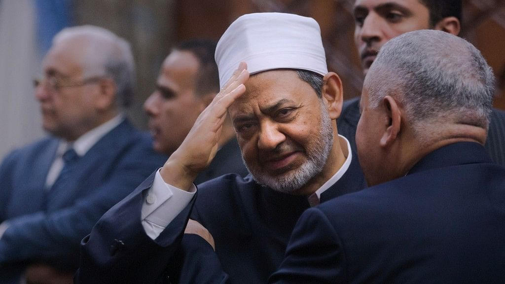 Sheikh Ahmed el-Tayeb is the Grand Imam of Al-Azhar which the pre-eminent institute of Islamic learning. (Photo: AP)