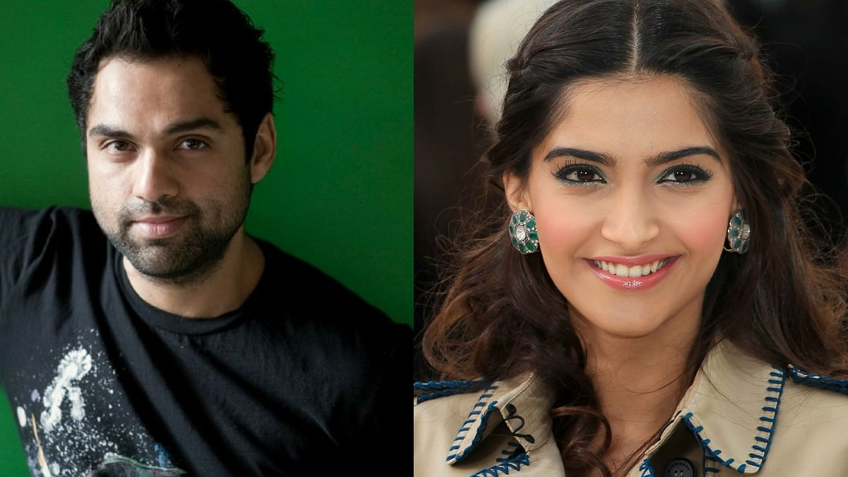 Abhay Deol and Sonam Kapoor. (Photo courtesy: Twitter/ Reuters)