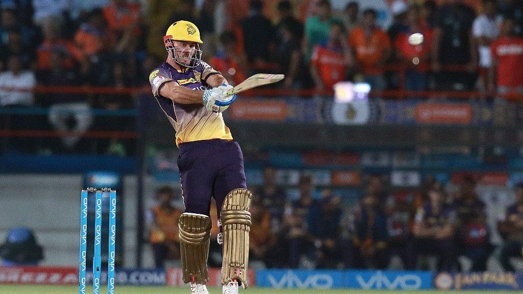 Chris Lynn scored 93 runs off 41 balls against Gujarat Lions. (Photo: BCCI)