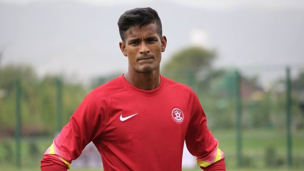 """India goalkeeper Subrata Paul has tested positive for a banned substance(Photo Courtesy: Facebook/<a href=""""https://www.facebook.com/pg/TheSubrataPaul/photos/?ref=page_internal"""">Subrata Paul</a>)"""