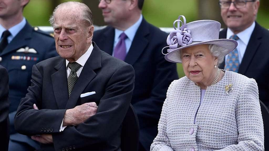 Britain's Queen Elizabeth with Prince Philip. (Photo: Reuters)