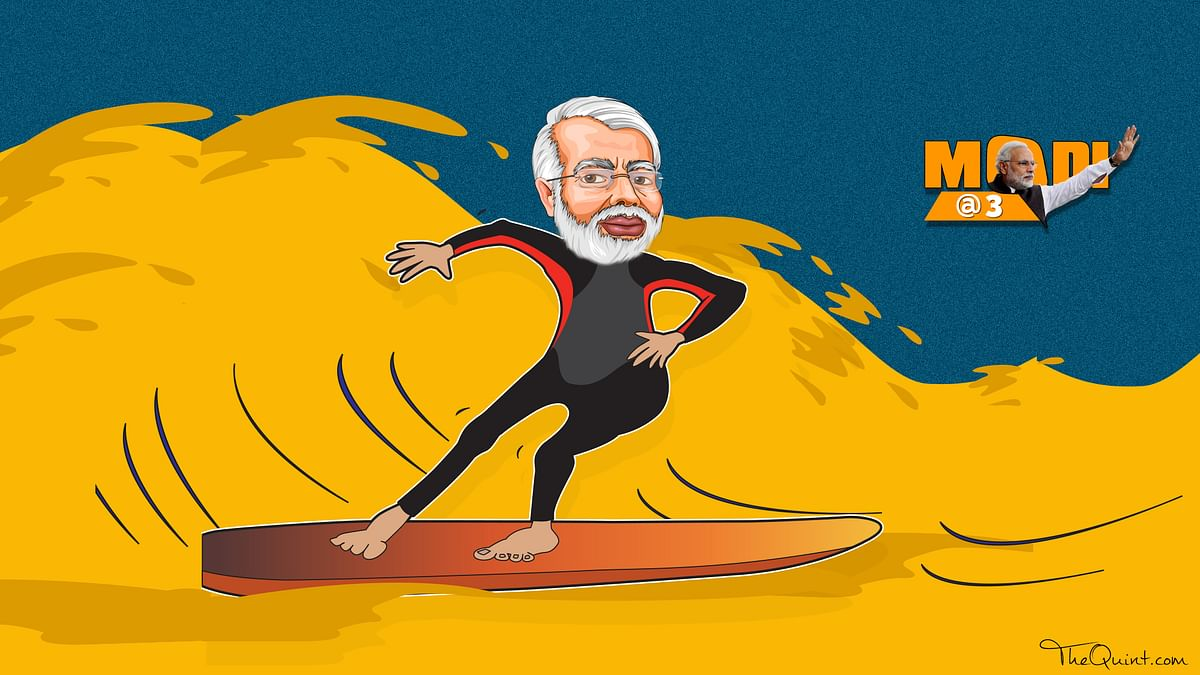 Modi@3: Riding the  Crude Wave, Yet Failing to Fuel Consumption