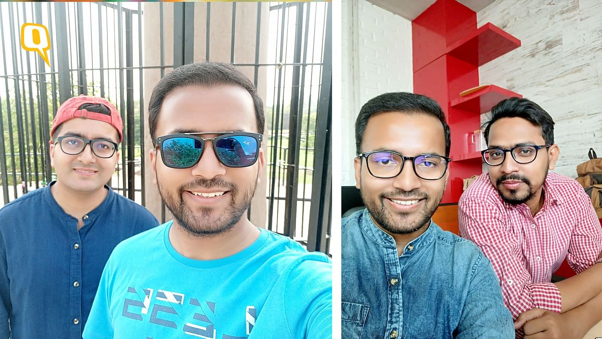 Selfies look bright and cheerful, like the people in it. (Photo: Aaqib Raza Khan/<b>The Quint</b>)