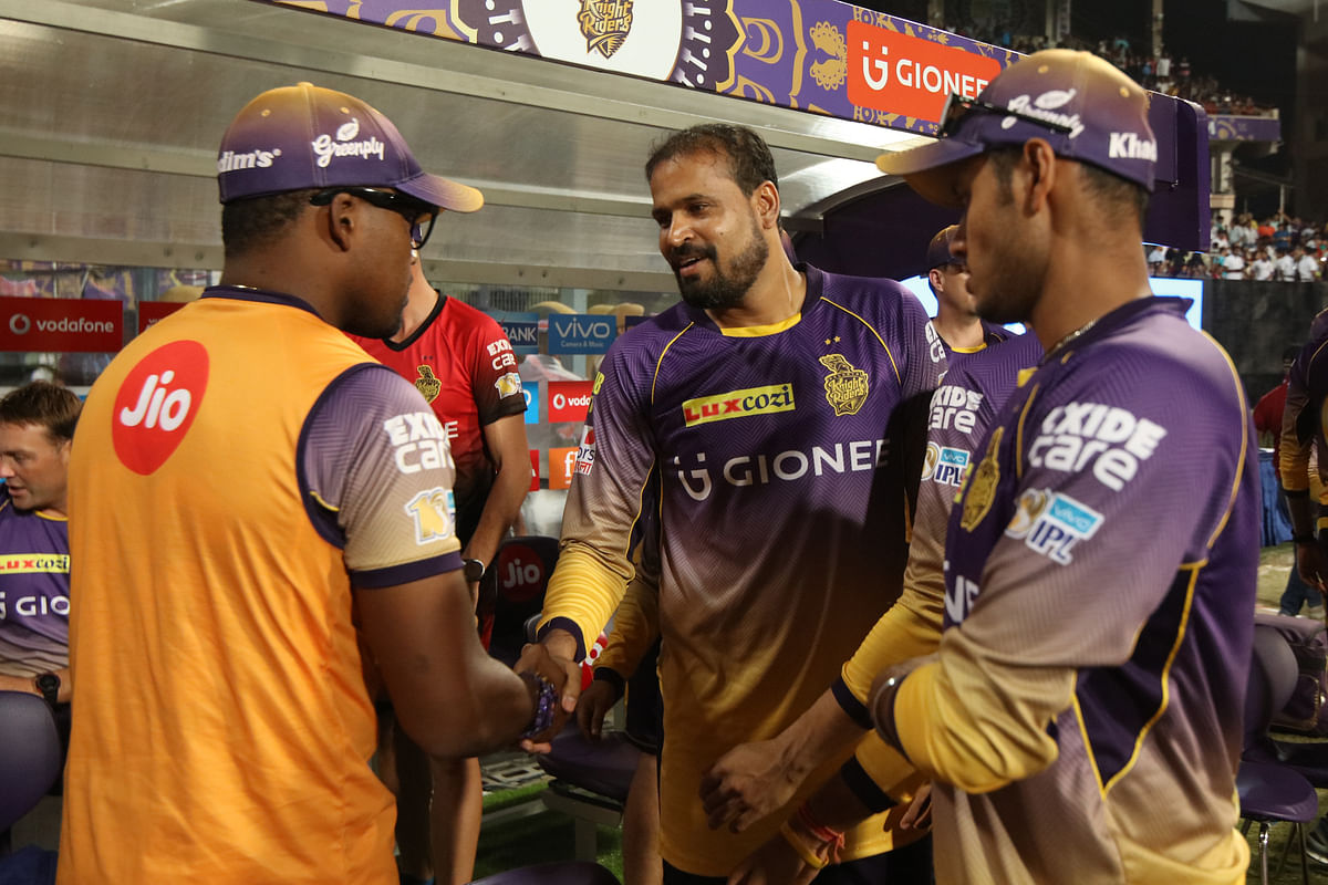 Yusuf Pathan was left in the dugout by KKR in the play-offs. (Photo: BCCI)