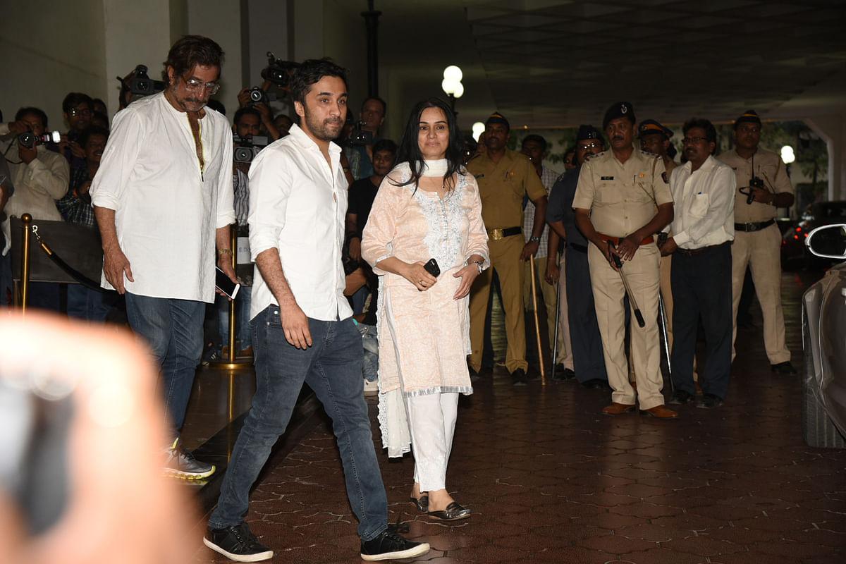 Shakti Kapoor with Padmini Kolhapuri. (Photo: Yogen Shah)