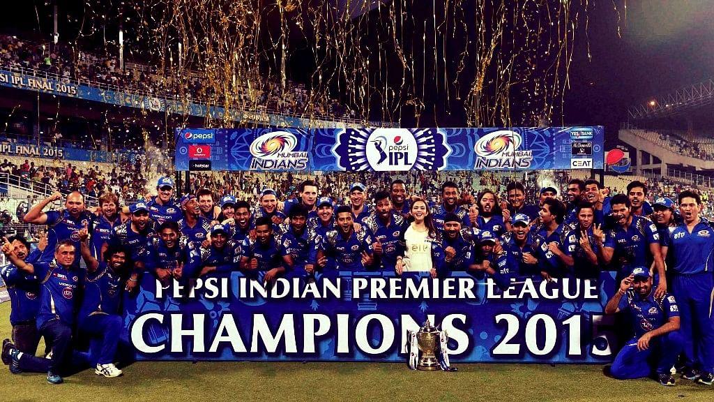 Mumbai Indians won IPL 2017.