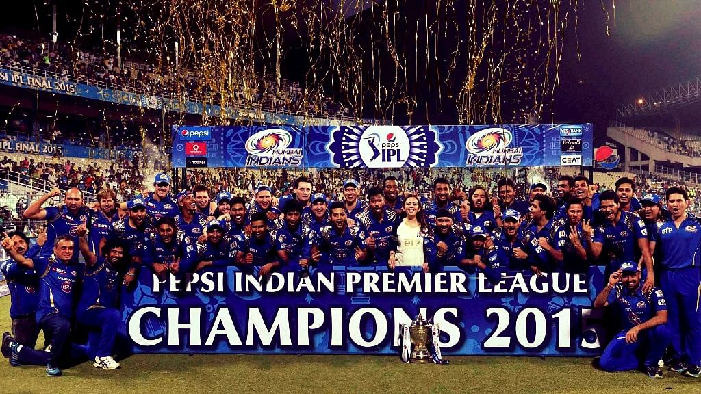 Mumbai Indians are one of the few teams to have won the IPL twice. (Photo: BCCI)