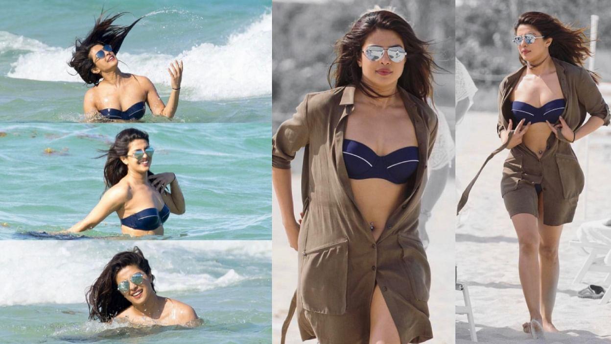 Priyanka Chopra Makes A Splash In La For Baywatch
