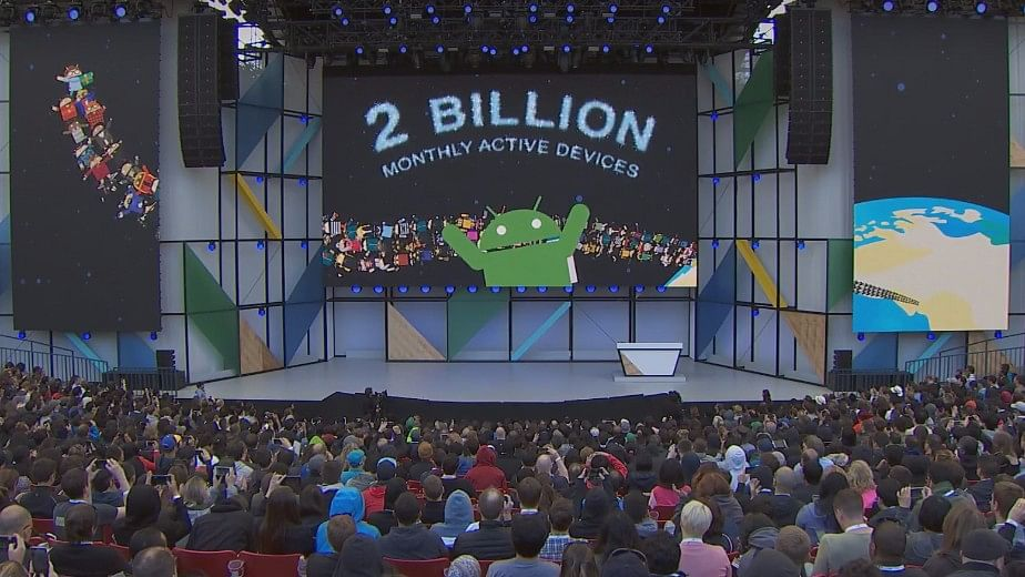 Google I/O 2017 had some interesting updates on Android.(Photo Courtesy: Youtube screen grab)
