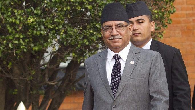 Nepalese Prime Minister Pushpa Kamal Dahal. (Photo: IANS)