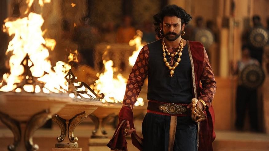 Prabhas in a scene from <i>Bahubali 2: The Conclusion.</i> (Photo courtesy: Dharma Productions)