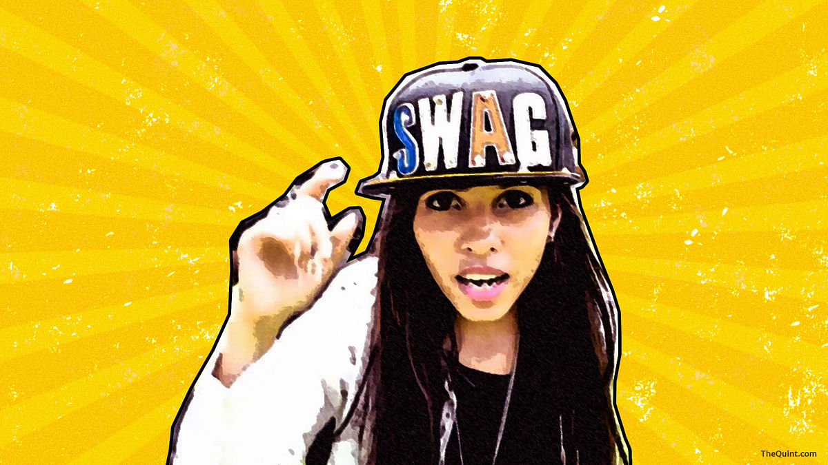 A dive into Dhinchak Pooja's online presence reveals a feisty girl, loyal fans and sassy subversion of the male gaze. (Photo: Liju Joseph/<b>The Quint)</b>