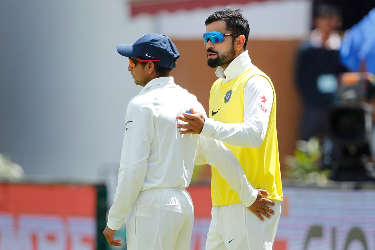 Virat Kohli's shoulder injury left an empty spot in the Indian team that was taken by Kuldeep Yadav in Dharamsala. Reportedly, without the knowledge of Virat Kohli. (Photo: BCCI)
