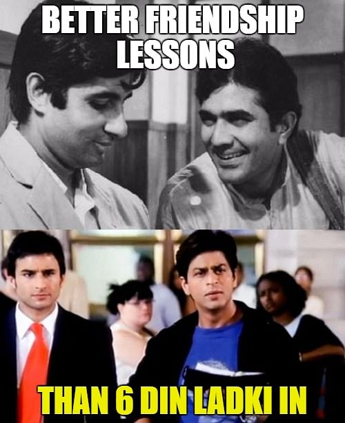 Lesser drama and more meaning, that's how Rajesh Khanna played the role with ease and skill. (Photo: Altered by The Quint)