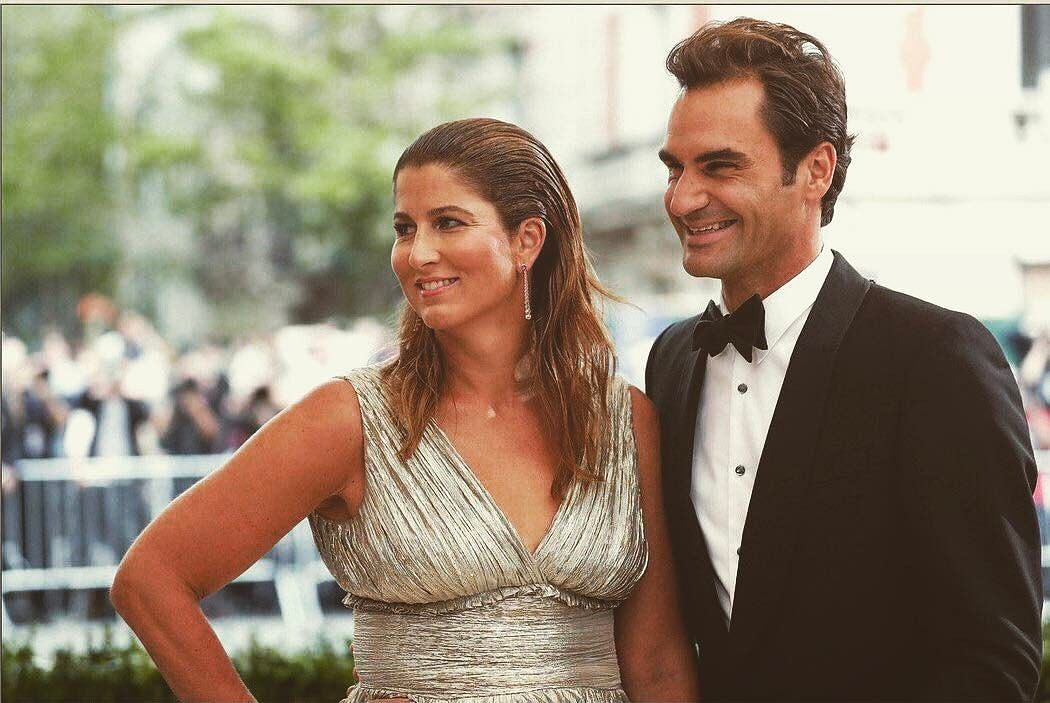 Roger Federer and his wife Mirka (Photo: Twitter)