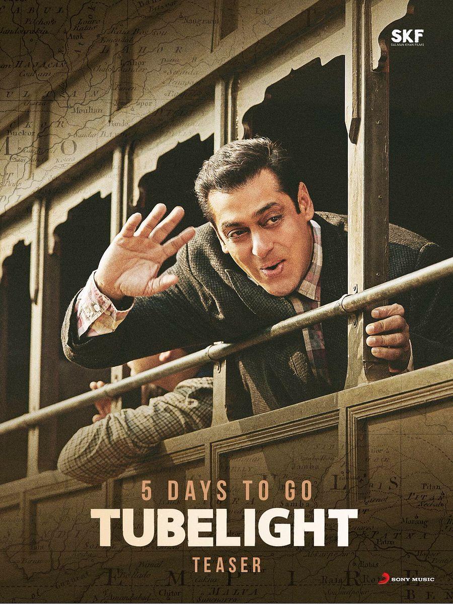 """Salman Khan in a still from Tubelight. (Photo courtesy: <a href=""""https://twitter.com/kabirkhankk"""">Twitter/KabirKhan</a>)"""