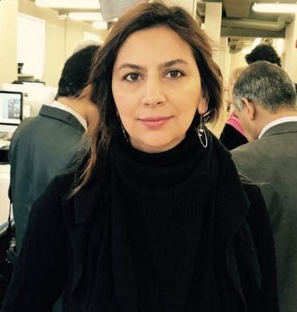 """Turkish Journalist Arzu Yildiz. (Photo Courtesy: Twitter/<a href=""""https://twitter.com/arzuyldzz?ref_src=twsrc%5Egoogle%7Ctwcamp%5Eserp%7Ctwgr%5Eauthor"""">@arzuyldzz</a>)"""