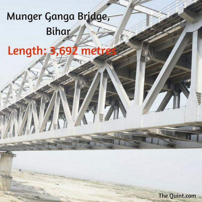 "(Photo Courtesy: <a href=""https://commons.wikimedia.org/wiki/File:Munger_Ganga_Bridge.jpg"">Wikimedia Commons</a>/Avijeet Sanu Singh)"