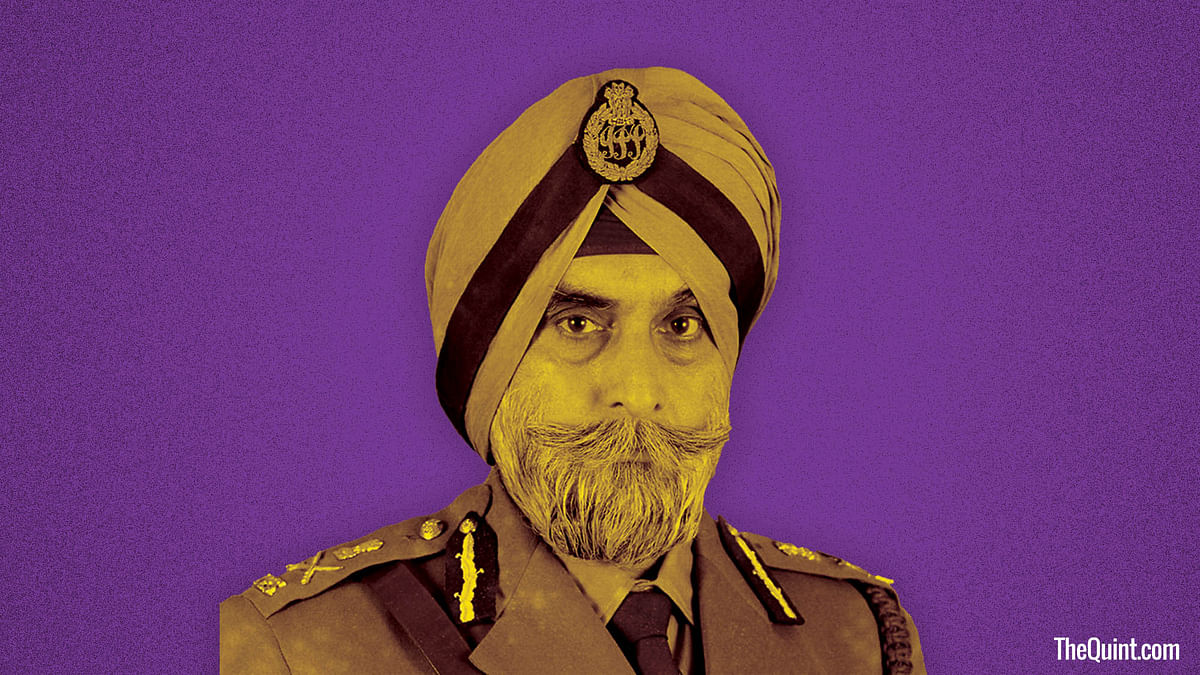 Despite his 'supercop' persona, KPS Gill had a softer side to him. (Photo: Harsh Sahani/ <b>The Quint</b>)