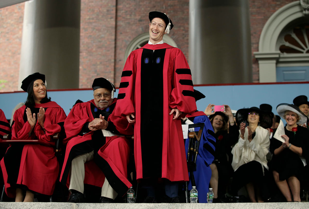 The happy graduate (Photo: AP)