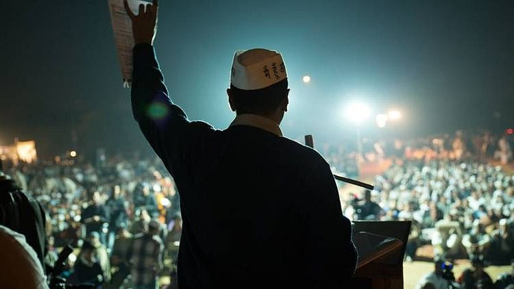 <i>An Insignificant Man</i>, film based on Arvind Kejriwal is having trouble with its release in India. (Photo courtesy: Twitter)