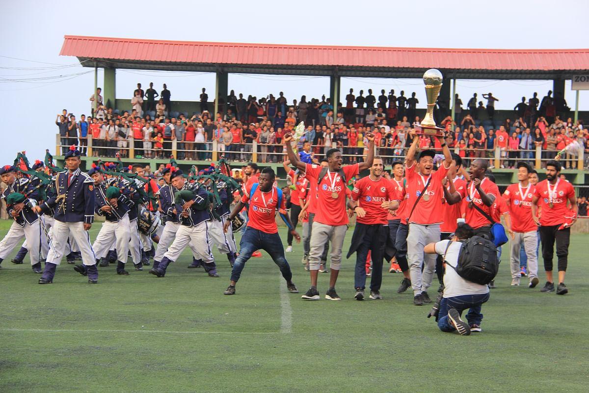 Zohmingliana Ralte during the celebrations. (Photo: Lawm Kima Tlau)