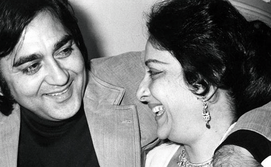 Sunil and Nargis Dutt, the love story that was.