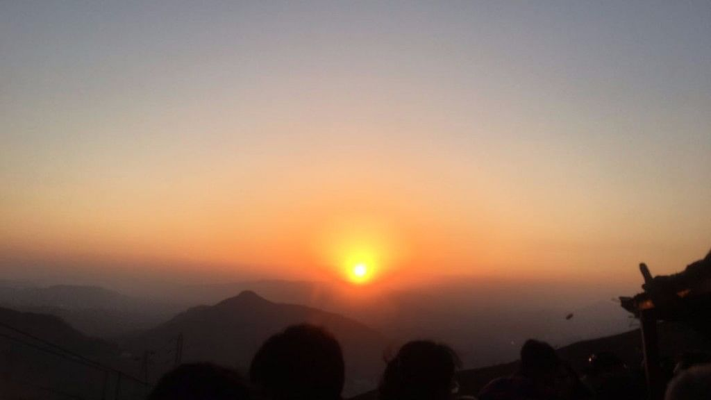 Sunset in Khandala.