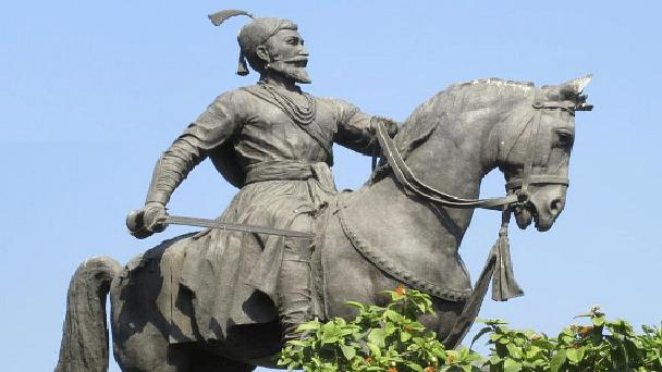 Representative image of a Shivaji statue.