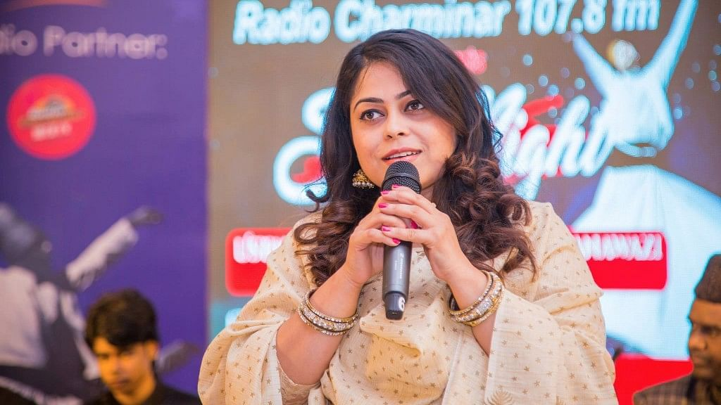 """Sandhya was allegedly being harassed by her Army Major husband's family for dowry. (Photo Courtesy: <a href=""""https://www.facebook.com/radiocharminar107.8fm/photos/a.597730633736959.1073741831.596529343857088/786005748242779/?type=3&amp;theater"""">Facebook / Radio Charminar 107.8 FM</a>)"""