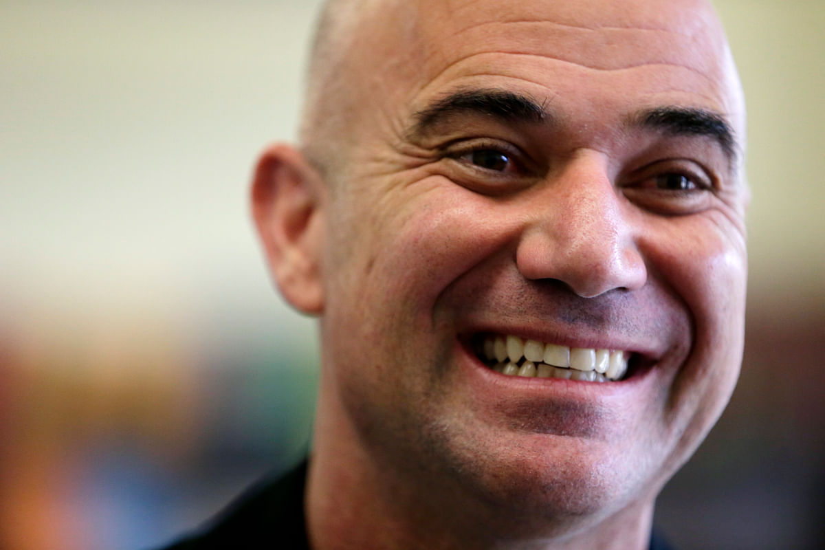 Andre Agassi will be coaching Novak Djokovic at the French Open. (Photo: AP)