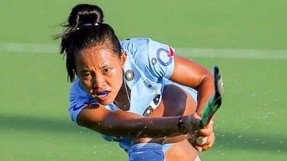 File photo of Sushila Chanu. (Photo: Hockey India)