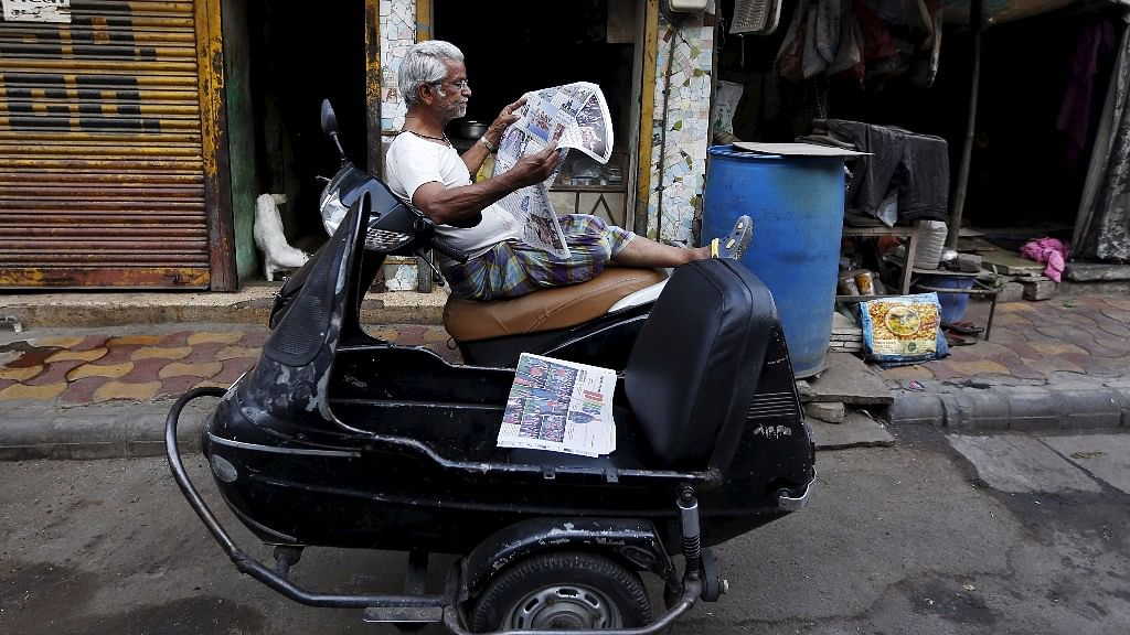 Dailies in Indian languages have shown a significant rise in readership in the last couple of years. (Photo: Reuters)