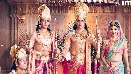 A still from the 2008 TV series <i>Ramayan</i>. (Photo courtesy: NDTV Imagine)