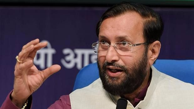 File image of Union Minister Prakash Javadekar.