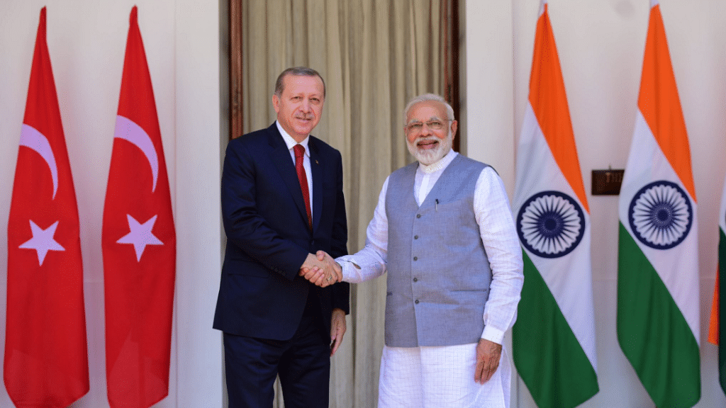 Turkey Always With India in Battling Terror, Says Erdogan