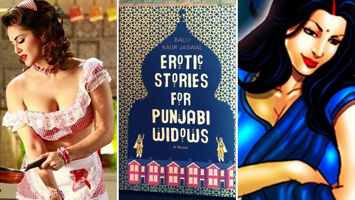In her new book, Balli Kaur Jaswal  accords  women with agency to mould their own stories, unlike Sunny Leone's <i>'Sweet Dreams'</i> and<i> 'Savita Bhabhi'</i>. (Photo: <b>The Quint</b>)