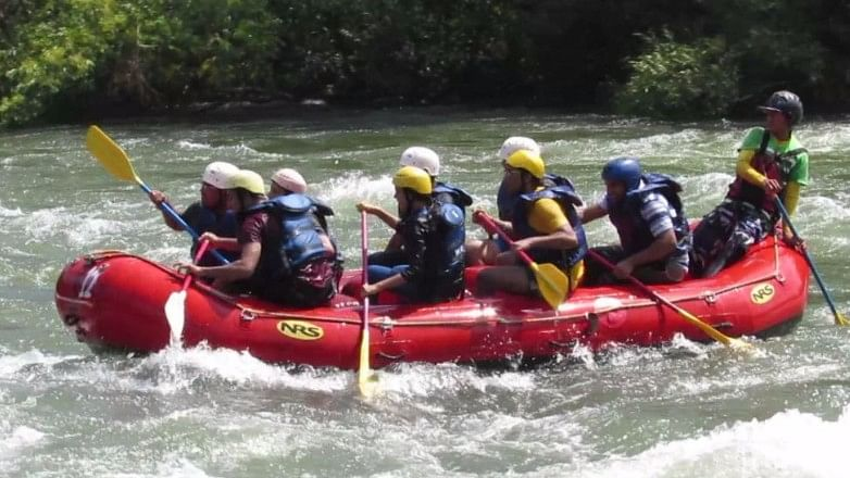 River rafting in Kolad.