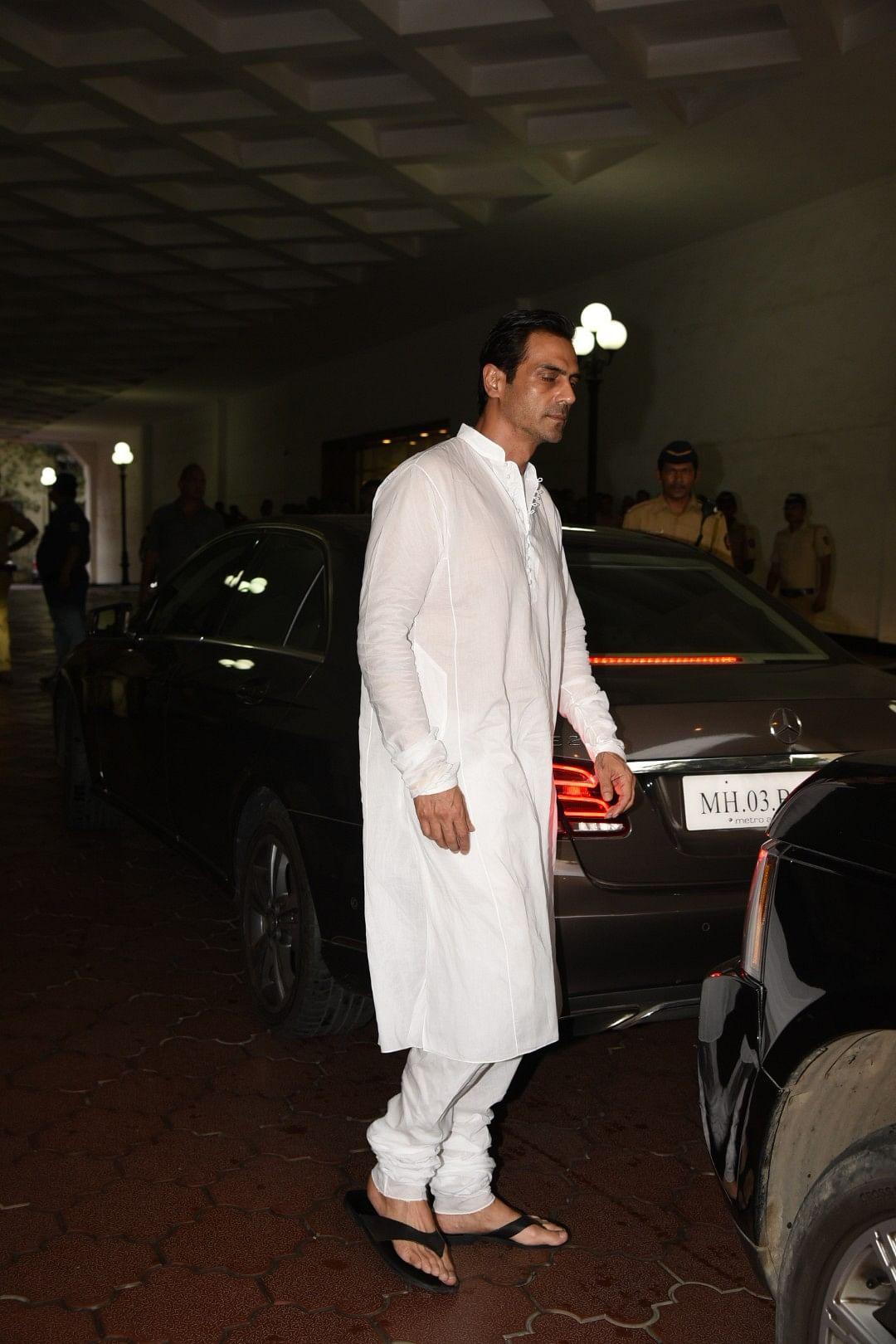 Arjun Rampal was also present. (Photo: Yogen Shah)