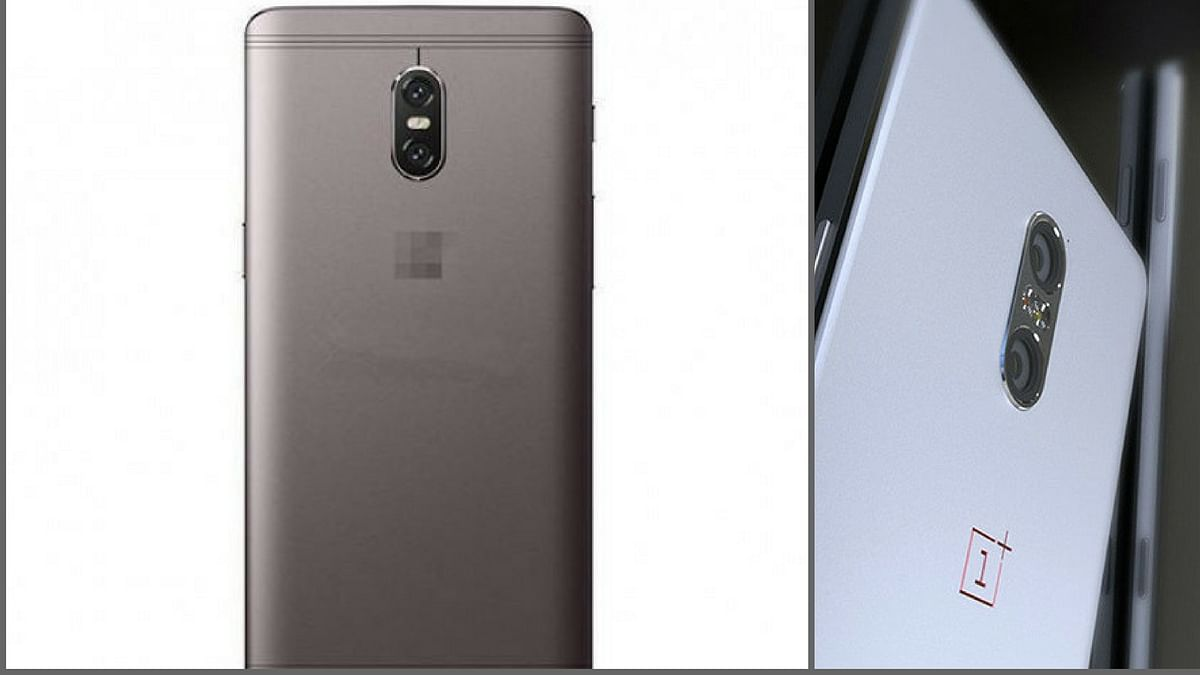 """Rumours suggest there will be a dual camera setup on the phone. (Photo courtesy: <a href=""""http://http://www.slashleaks.com/wp-content/uploads/thumbnail/crop.php?src=http://www.slashleaks.com/wp-content/uploads/oneplus%205%20alleged%20render%20leaked.jpg&amp;h=555&amp;w=750"""">slashleaks.com</a>)"""
