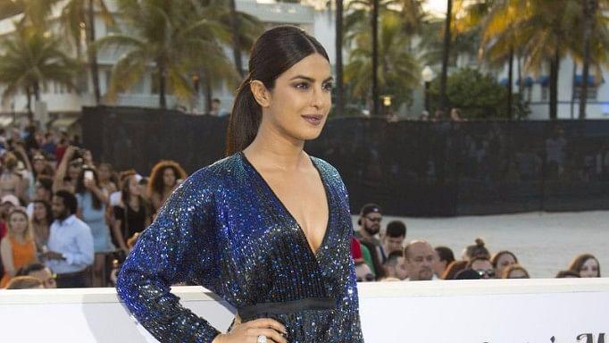 Priyanka Chopra seen here at an awards show.