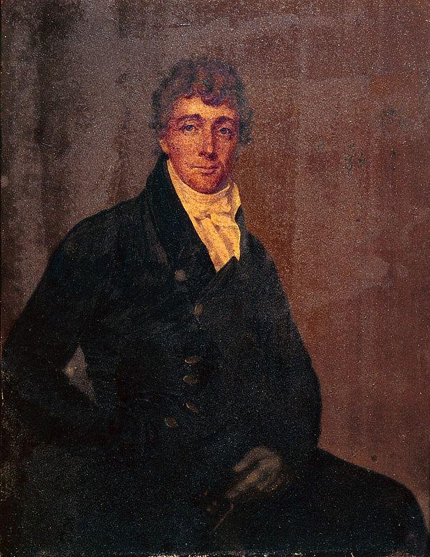 "Francis Scott Key, lawyer and poet. (Photo Courtesy: <a href=""https://en.wikipedia.org/wiki/Francis_Scott_Key#/media/File:Francis_Scott_Key_by_Joseph_Wood_c1825.jpg"">Wikipedia</a>)"