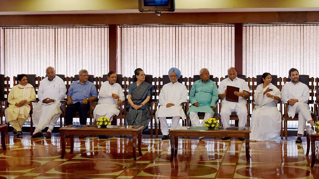 Leaders from the opposition camp met on Friday to decide on a joint presidential candidate. (Photo: PTI)