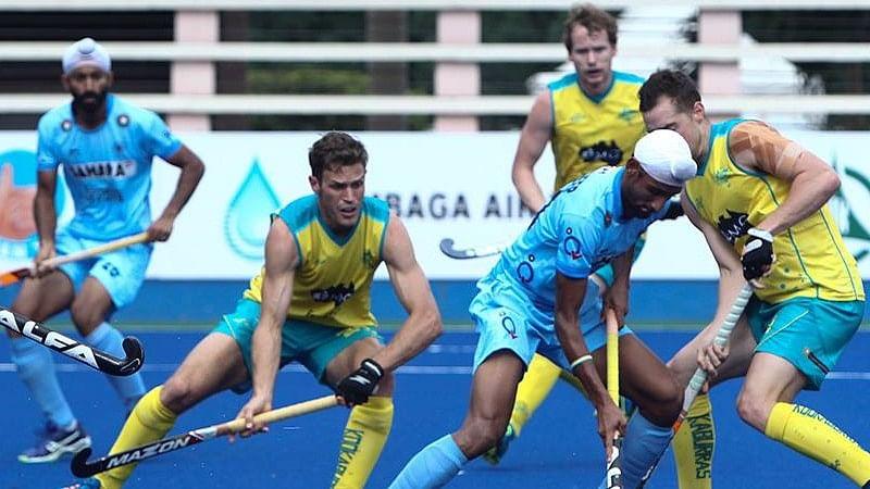 India lost 1-3 to Australia. (Photo: Hockey India)