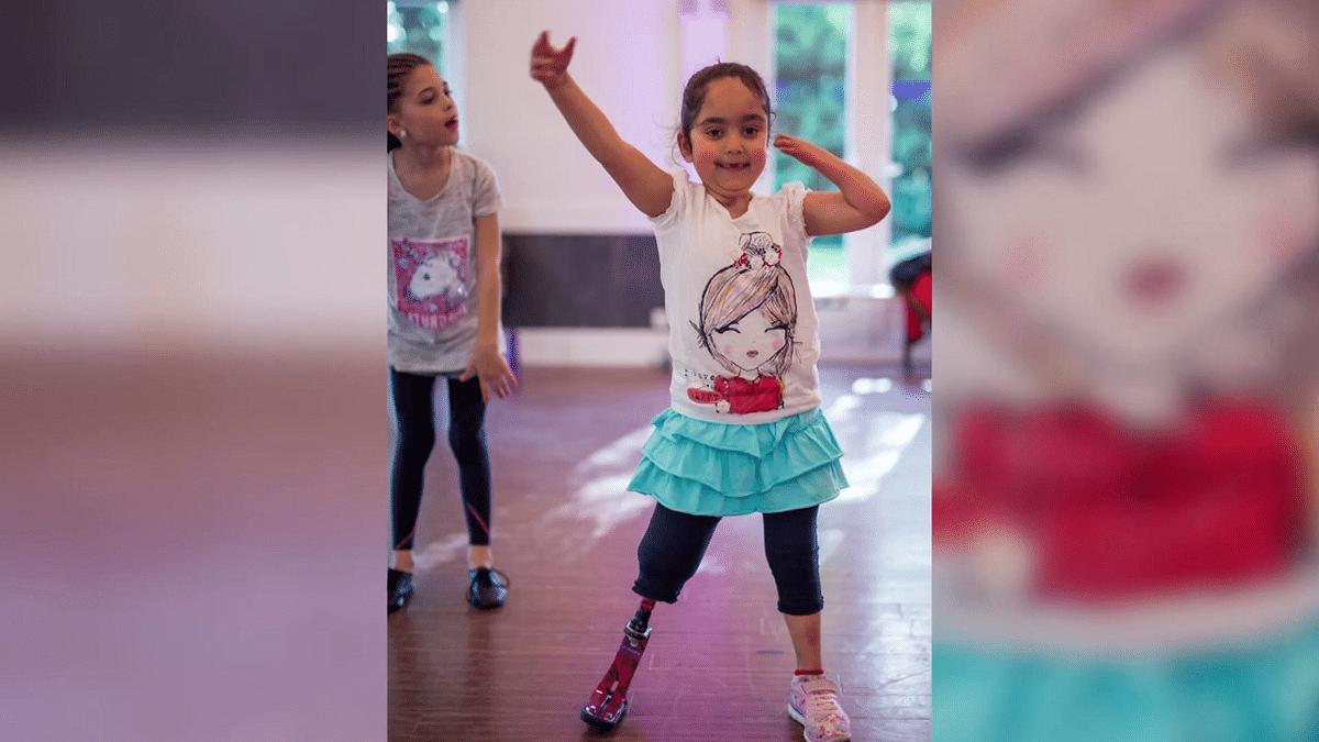 Anu's 'Pink Legs' Get Her on the Dance Floor